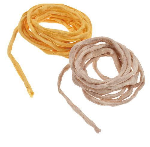 Cordoncini di seta - Giallo/Beige
