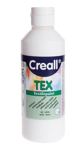 """Colore per tessuti """"Creall Tex"""" - Bianco 250ml"""