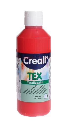 """Colore per tessuti """"Creall Tex"""" - Rosso, 250ml"""