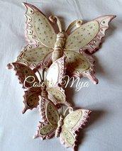 Coordinato Farfalle Country