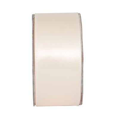 Nastro satinato largo - Cream Blush