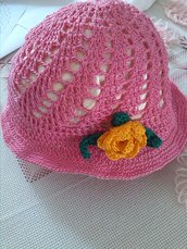 cappellino bimba ragazza