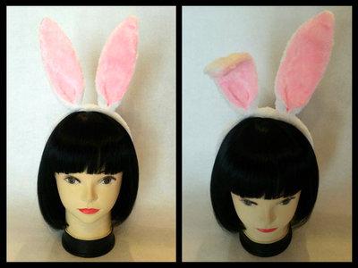 Cerchietto con orecchie da coniglio - Bianconiglio Cosplay