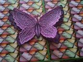 Farfalla 3D Viola e Lilla