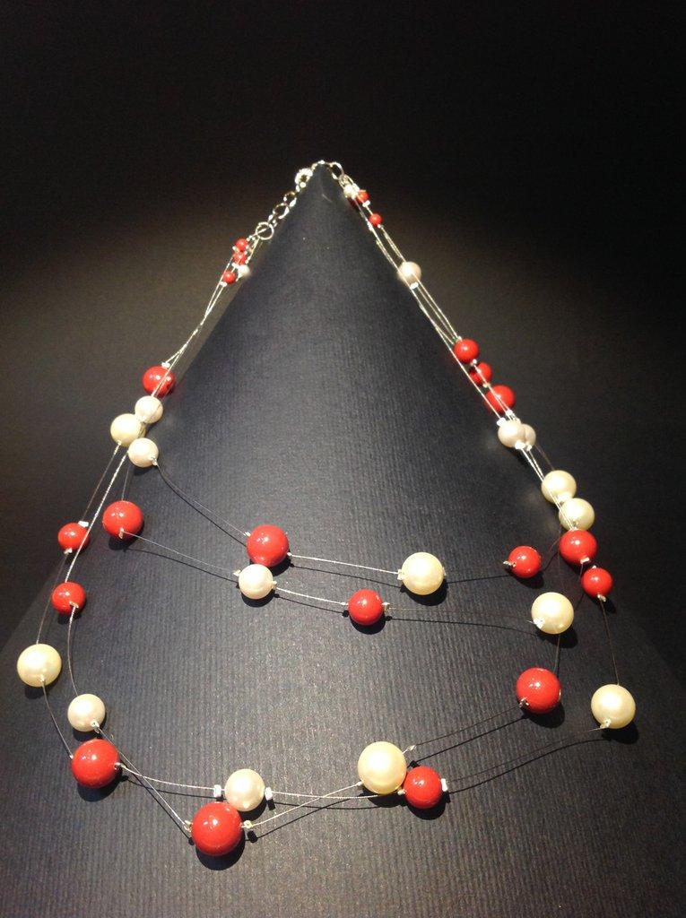 Collana multifilo Perle