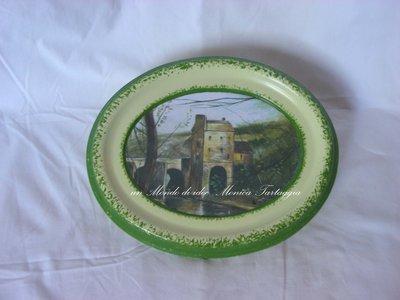 quadro ovale castello