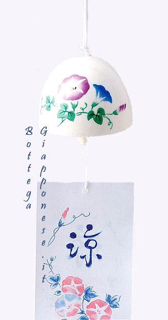 Fuurin Asagao campanella con fiore