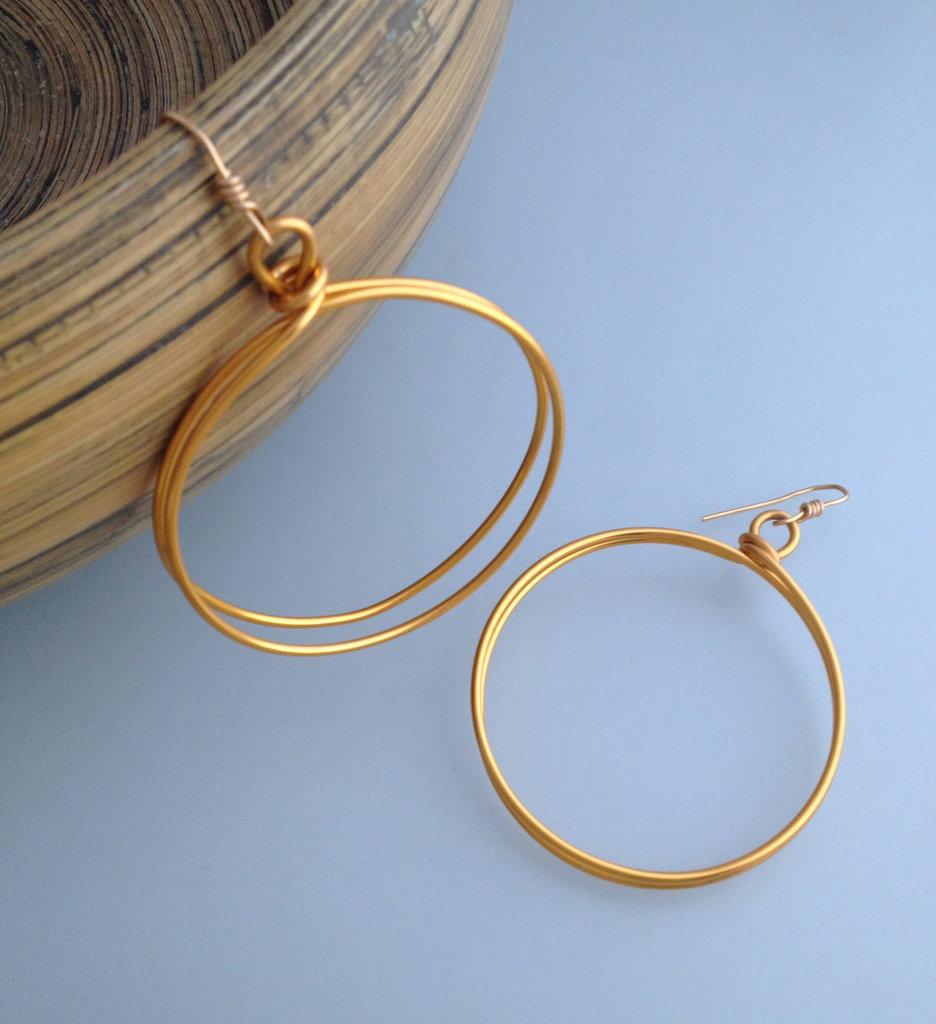 Cerchi in alluminio dorato