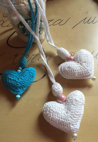 Collana Heart&Pearls tutti colori
