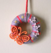 Ghirlanda Decorativa Fuoriporta o da Parete - OrangeButterfly^^