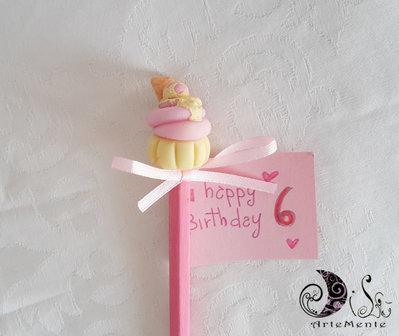 Matite regalo cupcake gadget compleanno bambini