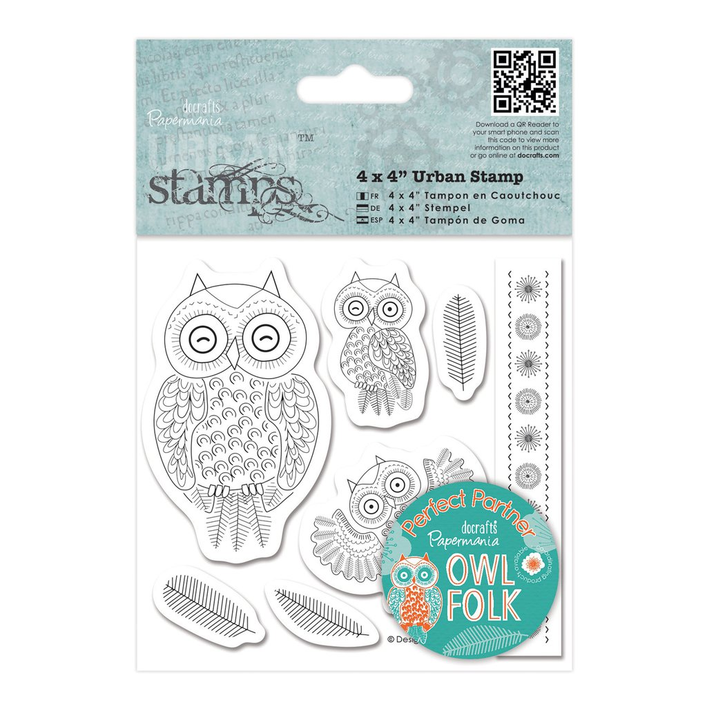Urban Stamps - Owl Folk Characters