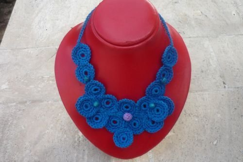 Collane uncinetto - crochet necklace