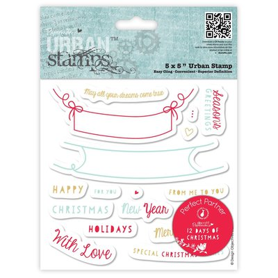 Urban Stamps - 12 Days of Christmas