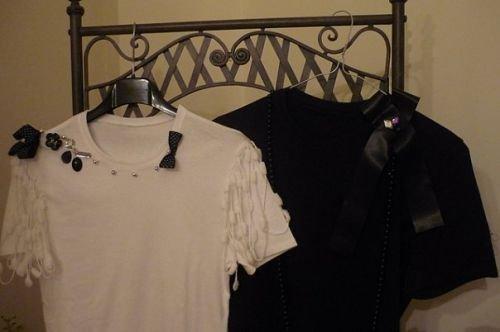 ANGEL & DEVIL T-shirt bianca o nera