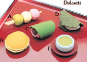 Gommine Dolcetti set (5pz) made in japan