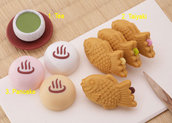 Gommine japan sweet set (8pz) made in japan