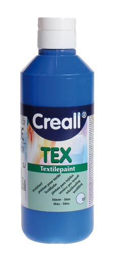 "Colore per tessuti ""Creall Tex"" - Blu, 250ml"