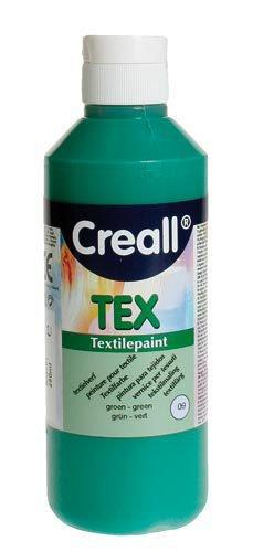 """Colore per tessuti """"Creall Tex"""" - Verde, 250ml"""