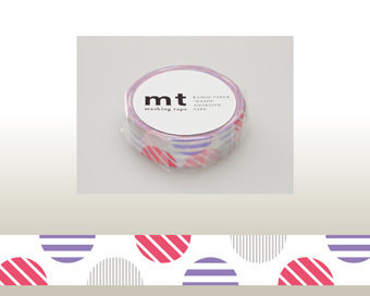 Washi Tape - Arch Pink