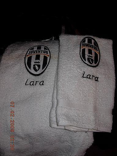 Ricamo su  Asciugamano