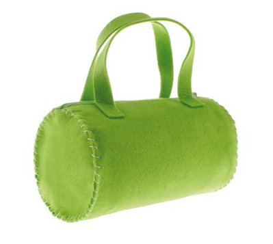 Borsa di feltro Rullo - Verde