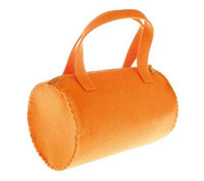 Borsa di feltro Rullo - Arancione