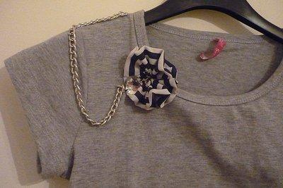 T-shirt Coccarda marine