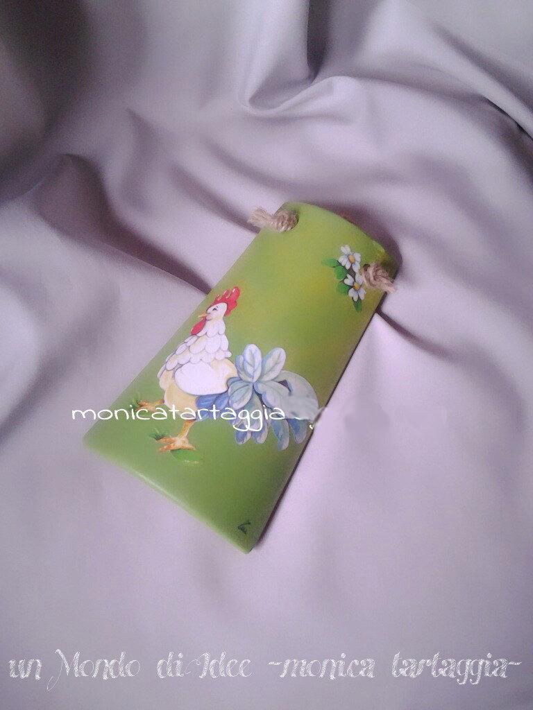 tegola/coppo piccolo verde gallo