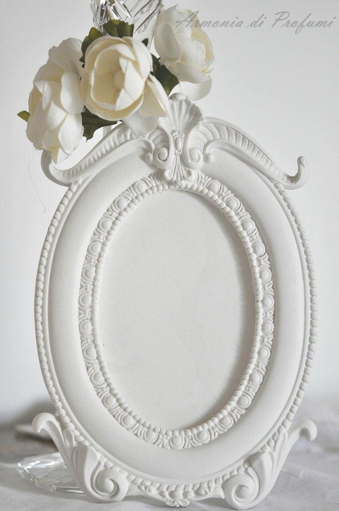 cornice in gesso bomboniera matrimonio