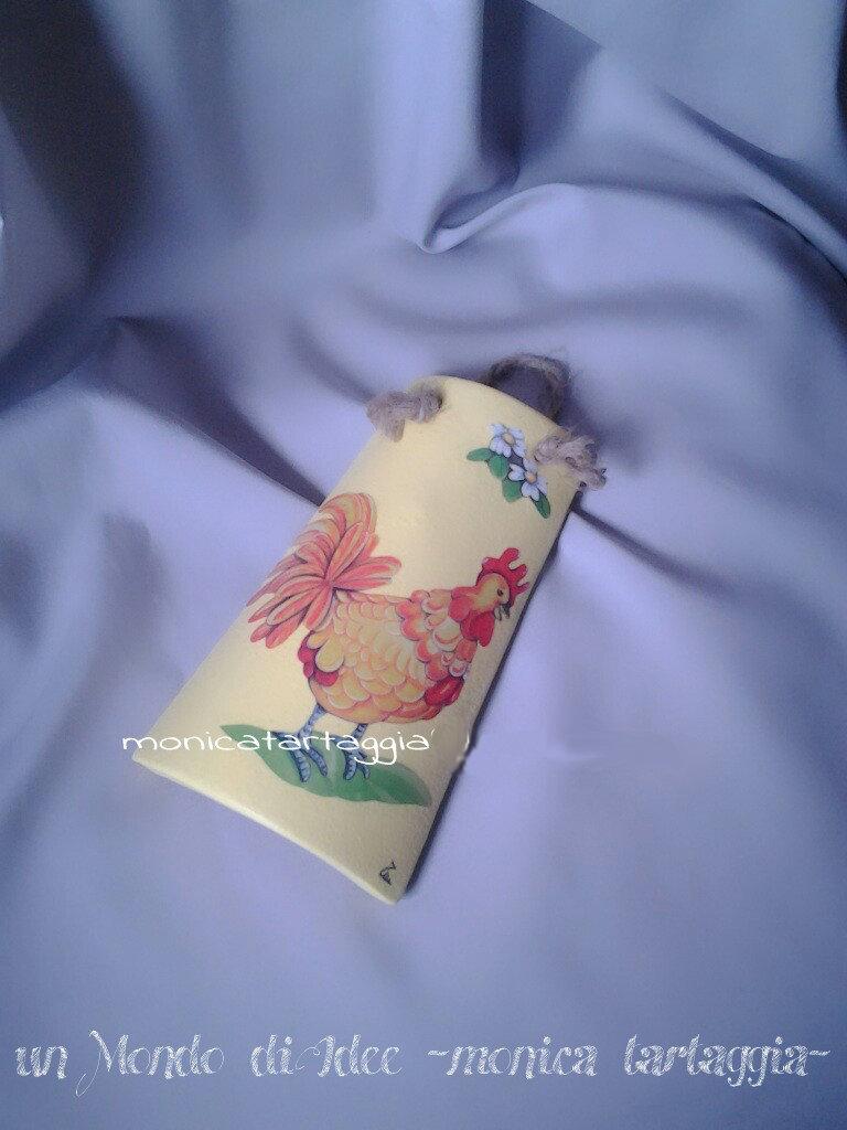 tegola/coppo piccolo giallo gallo