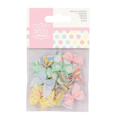 Set 20 fiocchi - Spots & Stripes Pastels