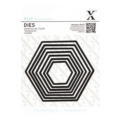 Set fustelle XCut - Hexagons