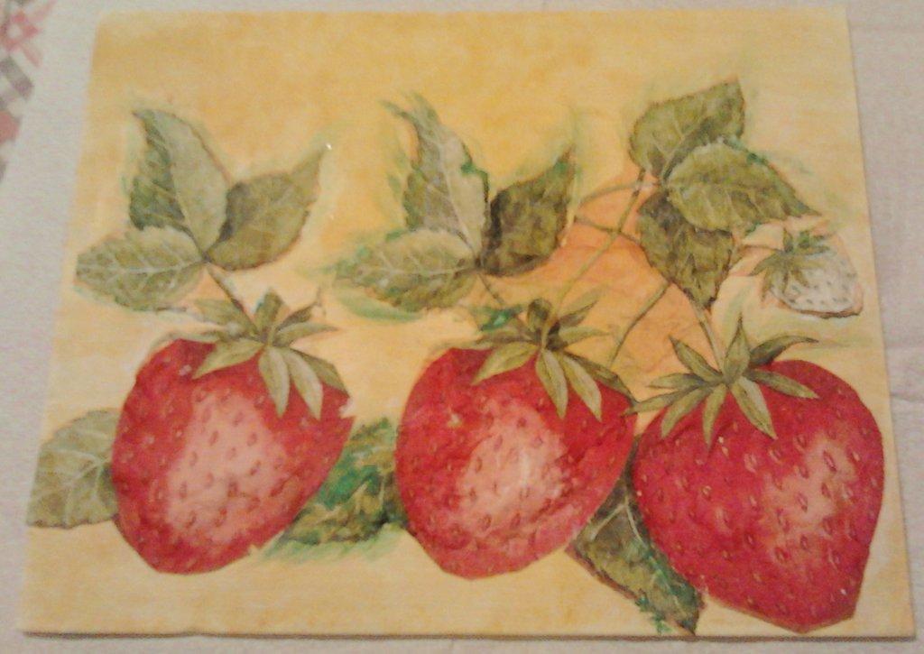 Il quadro delle fragole