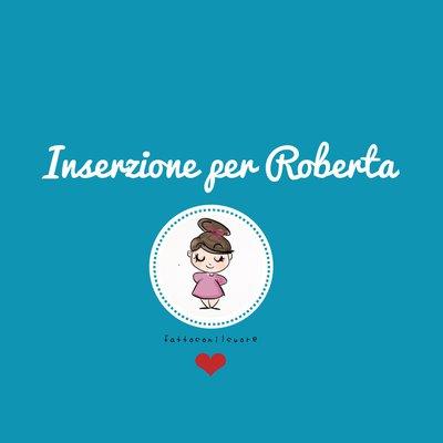 Inserzione privata per Roberta