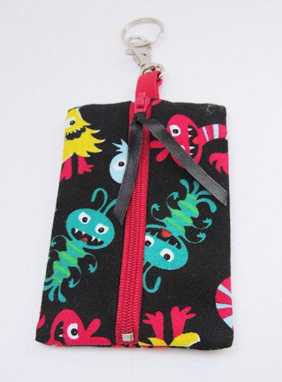 Porta sacchetti in cotone per feci cani