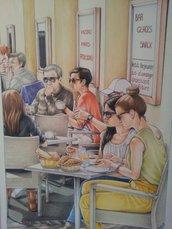 Quadro Antibes Café