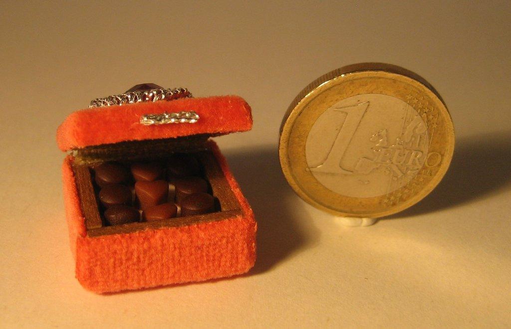 Mini scatola con cioccolatini
