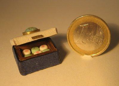 Mini scatola con dolcetti
