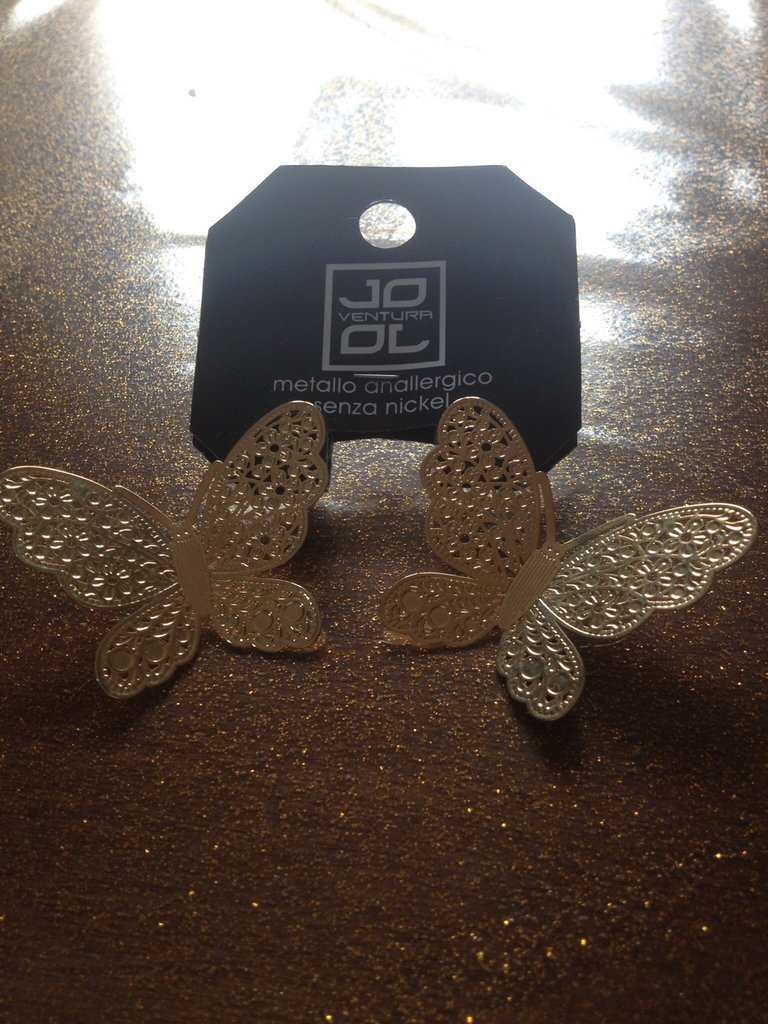 Orecchini farfalla fashon