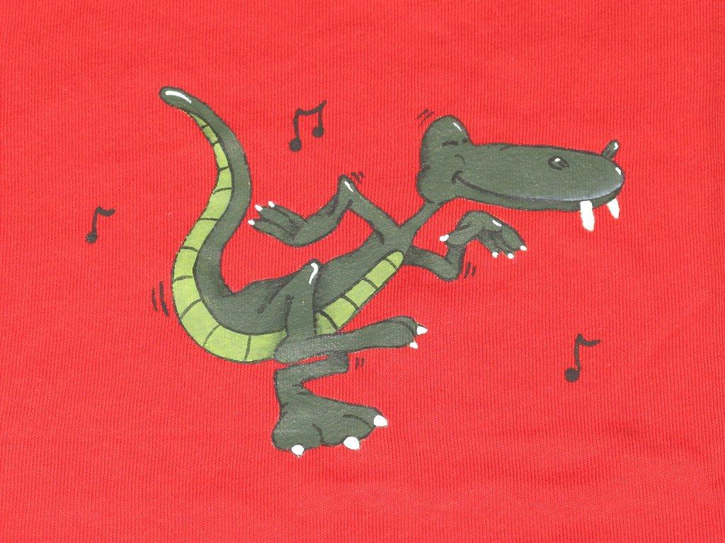T-shirt coccodrillo ballerino per bimbo/a