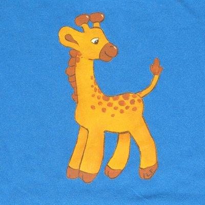 T-shirt giraffa per bimbo/a