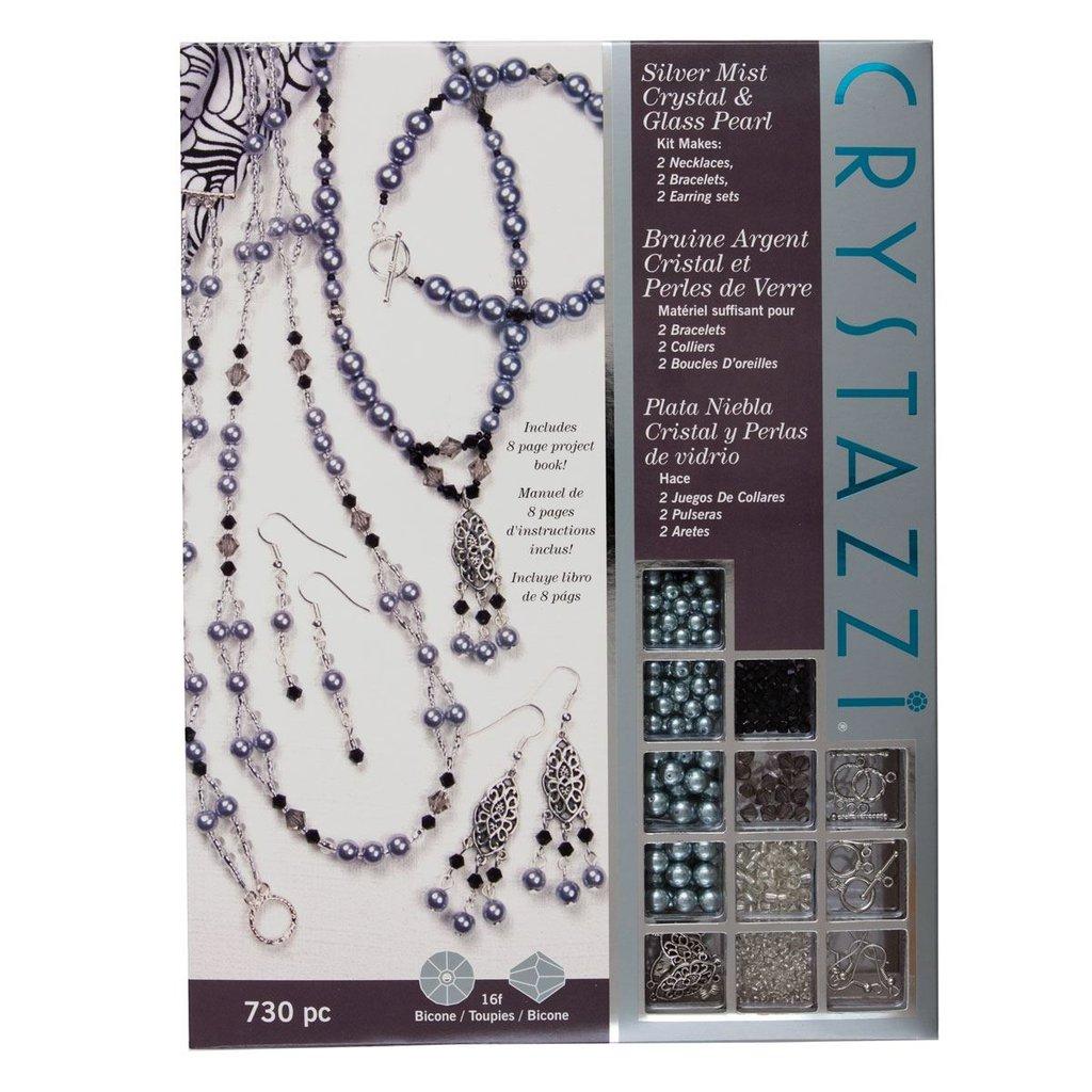 Crystazzi Kit - Silver Mist