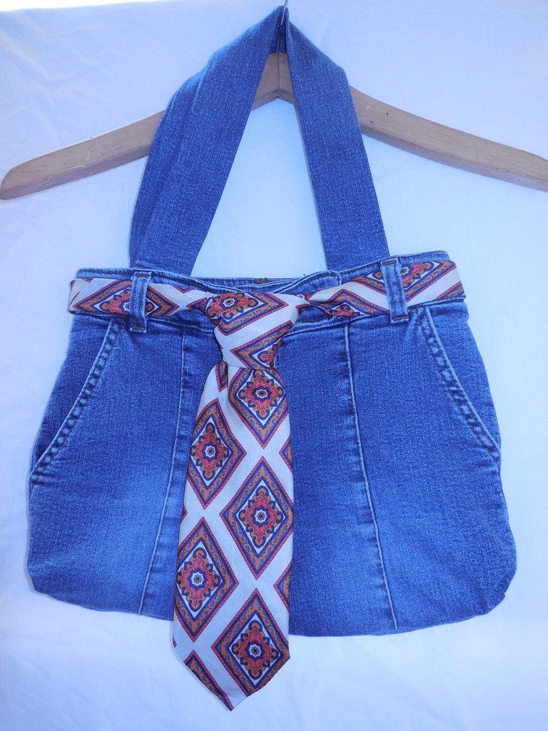 Borsa di Jeans fatta a mano