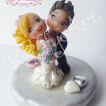 "Bomboniera o segnaposto per matrimonio o anniversario ""Happy Together (mod. 2)"" (personalizzabile)"