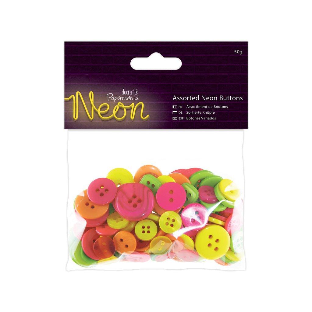 Mix 50 gr bottoni - Neon