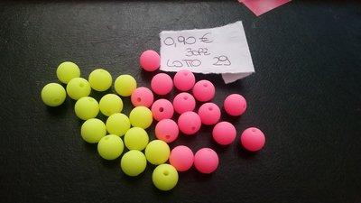 Lotto perline colorate