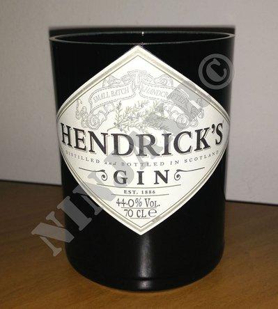 Vaso artigianale da Bottiglia Gin HENDRICK'S