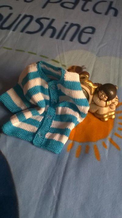 giacchino cotone da bimbo