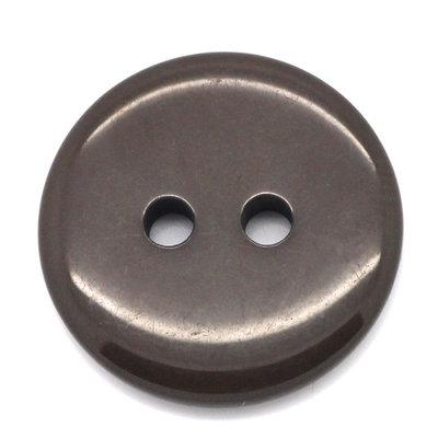 Set 10 bottoni 18 mm - Marrone